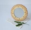 ベレスタ 白樺のスタンドミラー 14cm
