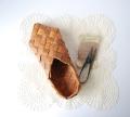 アンティークの白樺の靴(片足) 21cm 30%OFF