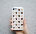 KUKKA(お花柄) スマートフォンケース  【 iPhone 8・iPhone 7・iPhone 6・iPhone 6s 対応】