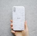 ★ スペシャルプライス!! Bjork(白樺柄) スマートフォンケース  【 iPhone X 対応】