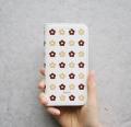 ★スペシャルプライス! KUKKA(お花柄)スマートフォン手帳型ケース 【 iPhone8・iPhone7・iPhone6s・iPhone6 対応 】