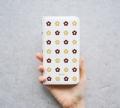 KUKKA(お花柄) スマートフォン マルチスライド手帳型ケース 【Galaxy 8/iPhone8 Plus他対応】