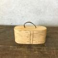 白樺の一枚皮の蓋つきボックス