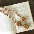 白樺のネックレス お花3個タイプ(EN作)