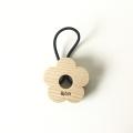 お花(kukka)のヘアゴム 1個 せんの木(白木)【予約商品 2月下旬頃の発送】