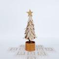 白樺 白のクリスマスツリー ポット付き 高さ21cm