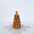 白樺 ループのクリスマスツリー 高さ14cm