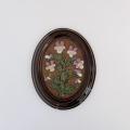 GABRIEL(ガブリエル)釜 /陶板の壁飾り(すみれ)