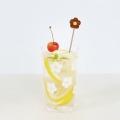 KUKKAグラス+マドラーセット ウォールナット(焦げ茶)