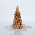白樺 ループのクリスマスツリー 高さ19cm