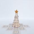 白樺 白のクリスマスツリー 高さ14cm