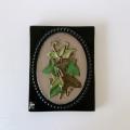 Jie Gantofta 社 (ジイ・ガントフタ )/ Aimo Nietosvuori/アイモ・ニエトスヴオリ)/陶板の壁飾り(アイビー)