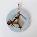 Upsala Ekeby(ウプサラ・エクビー)ヴィンテージ 陶器壁掛け/ 馬