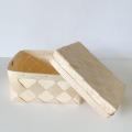 パインの蓋つきボックス