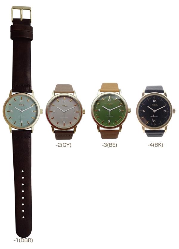 メール便 送料無料 腕時計 カプリコ レディース メンズ アナログ おしゃれ 人気 カジュアル シンプル 革ベルト