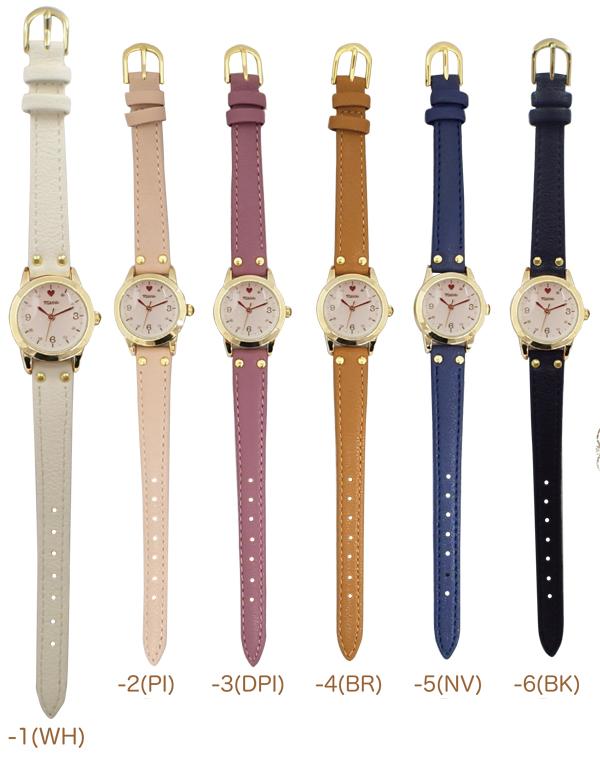 メール便 送料無料 腕時計 バートラム レディース アナログ おしゃれ 人気 カジュアル シンプル 革ベルト