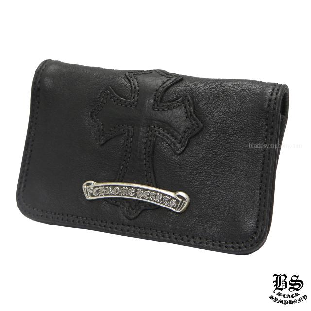 クロムハーツ chrome hearts 1クロスパッチレザーカードケース 税込 ¥109,350