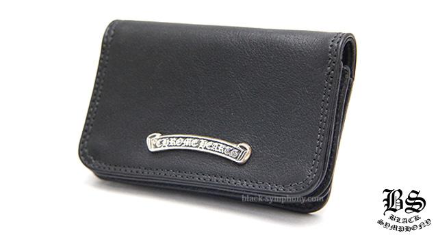クロムハーツ レザーカードケース#2 ブラック