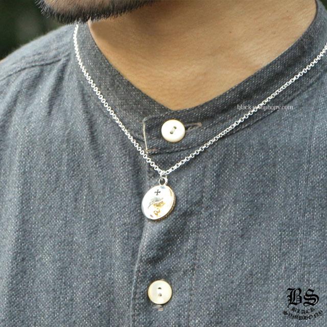chrome hearts クロムハーツ CHプラス YING YANG シルバー&ゴールド 税込 \245,160