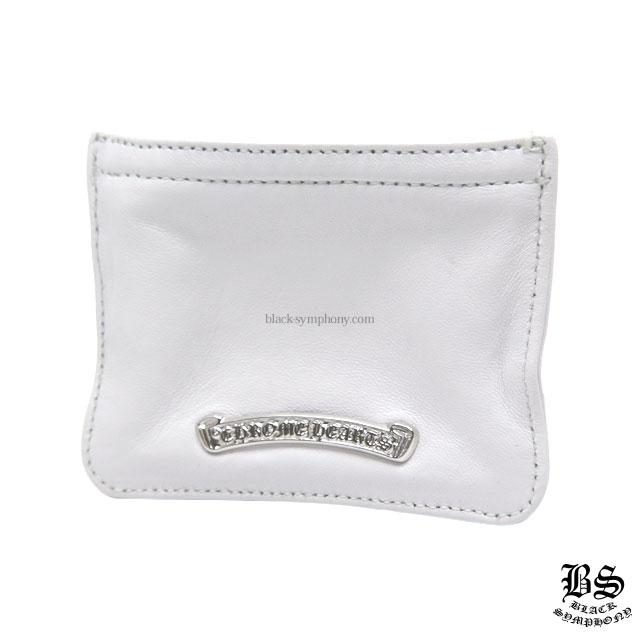 クロムハーツ chrome hearts コインパース 3×4 ホワイトレザー 税込 ¥68,180
