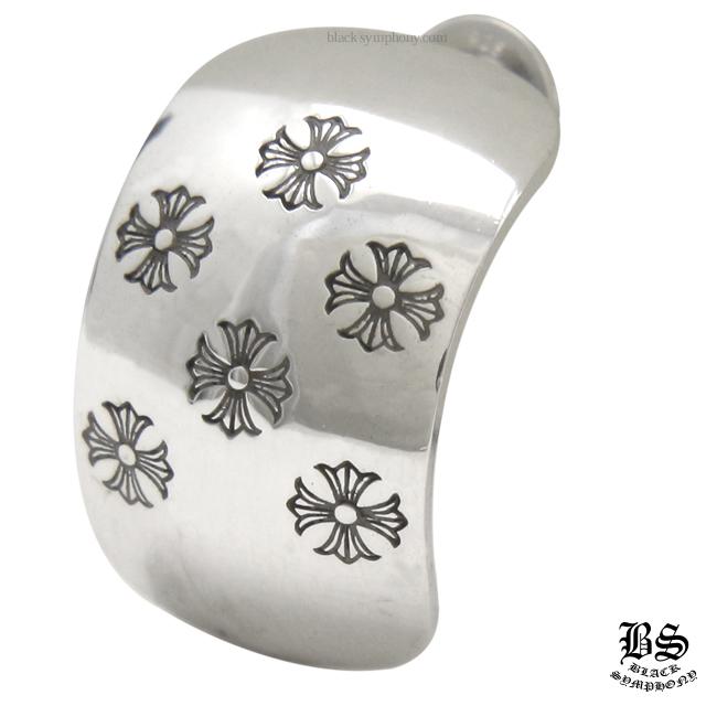クロムハーツ chrome hearts CHプラス ベント ピアス 税込 \56,980
