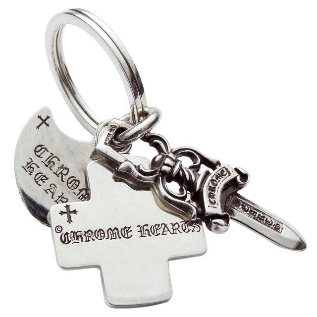 クロムハーツ chrome hearts 3トリンケッツ キーリング 税込 145,670円