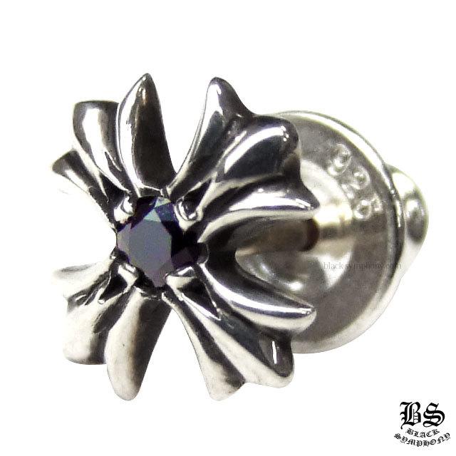 クロムハーツ chrome hearts CHプラススタッドwithブラックダイヤモンド 税込 ¥87,480