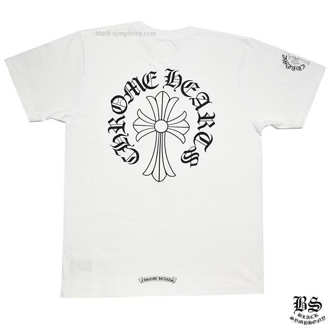 クロムハーツ Tシャツ CHクロス ホワイト
