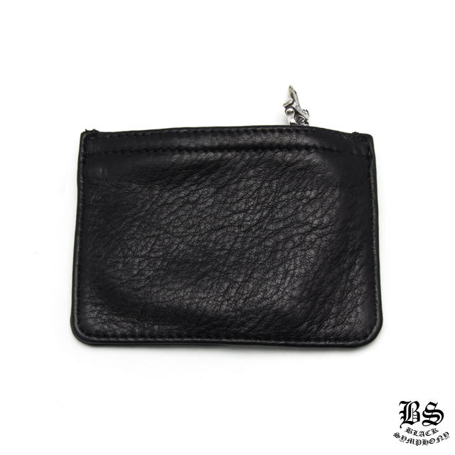 クロムハーツ chrome hearts コインパース 3×4 ブラック ヘビーレザー 税込 ¥69,410