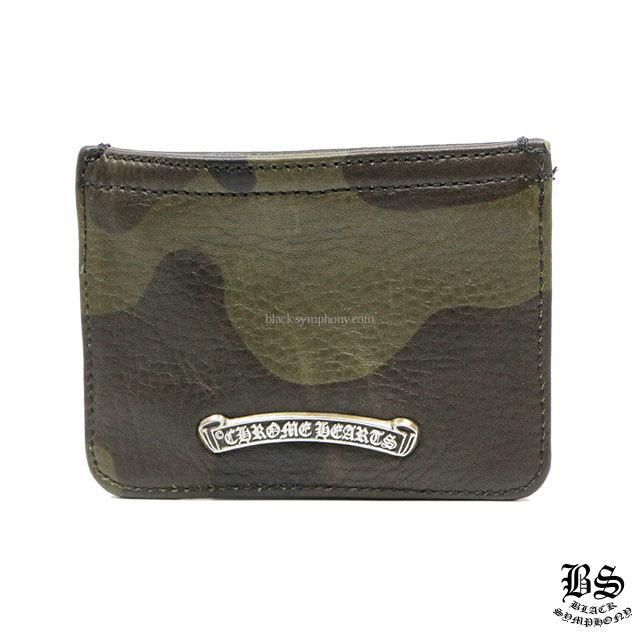 クロムハーツ chrome hearts コインパース 3×4 カモフラ ヘビーレザー 税込 ¥68,180