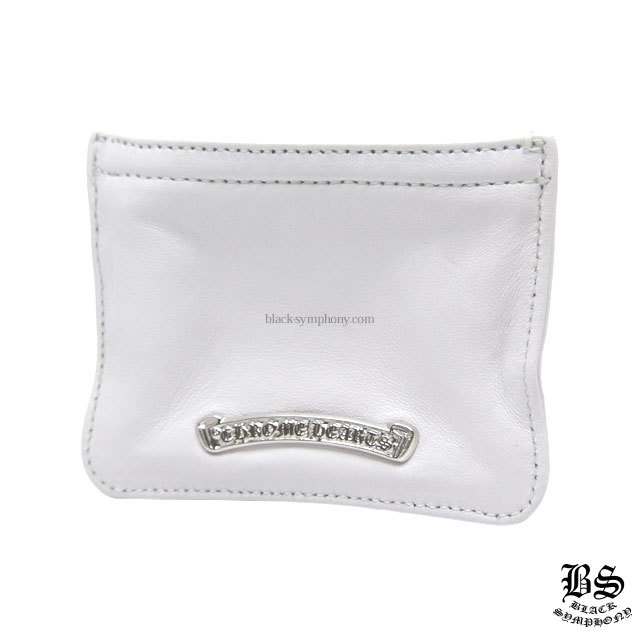 クロムハーツ chrome hearts  コインパース 3×4 ホワイトレザー  税込 ¥69,410