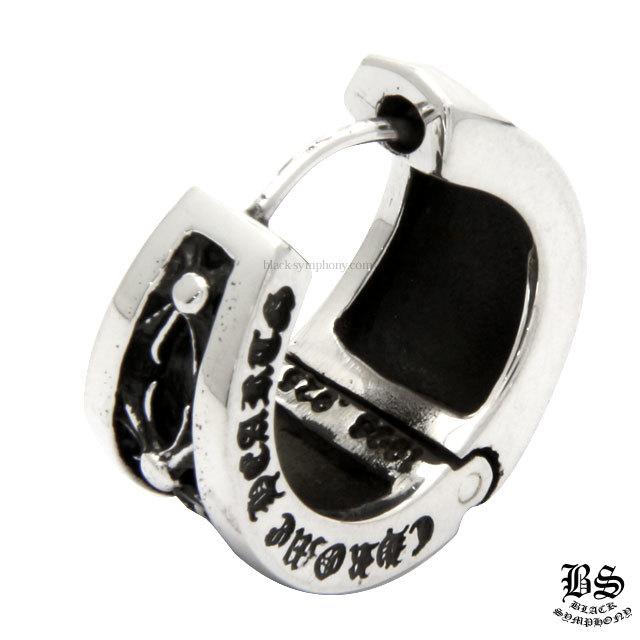 クロムハーツ chrome hearts  ナローVバンド CHX イヤリング 税込 91,410円