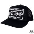 クロムハーツトラッカーキャップ CH ブラック(帽子)