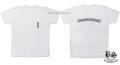クロムハーツ メンズハーフスリーブポケットTシャツ スクロールラベル/セメタリークロス ホワイト