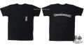 クロムハーツ メンズハーフスリーブポケットTシャツ スクロールラベル/セメタリークロス ブラック
