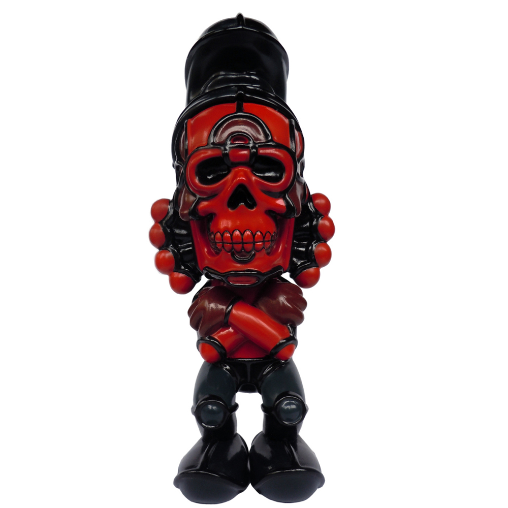 David Flores x HellFire Canyon Club x BlackBook Toy(デイビッド・フローレス×ヘルファイア) Deathead S'murks Crimson