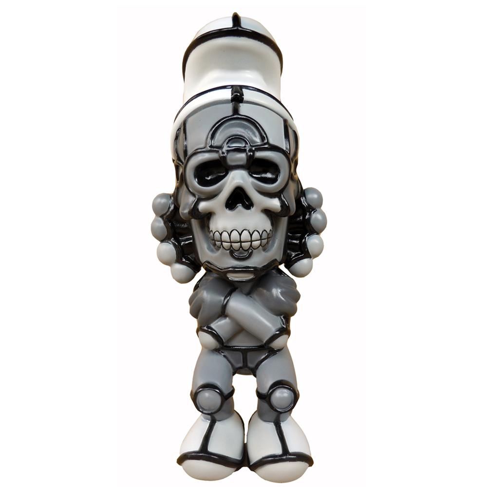"David Flores x HellFire Canyon Club x BlackBook Toy:Deathead S'murks ""Grayscale"" BAIT Exclusive"