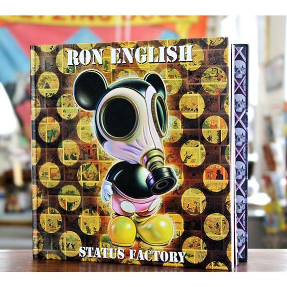 Ron English( ロン・イングリッシュ) Status Factory(ステータス・ファクトリー) 作品集(ハードカバー)