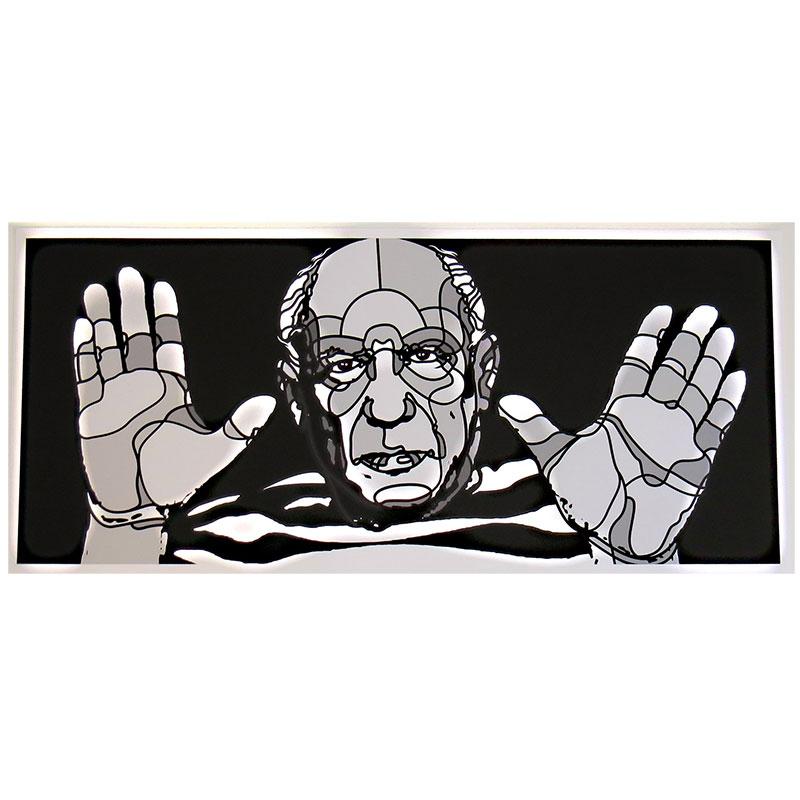 David Flores x Gift Universal(デイビッド・フローレス) Picasso ジークレーポスター