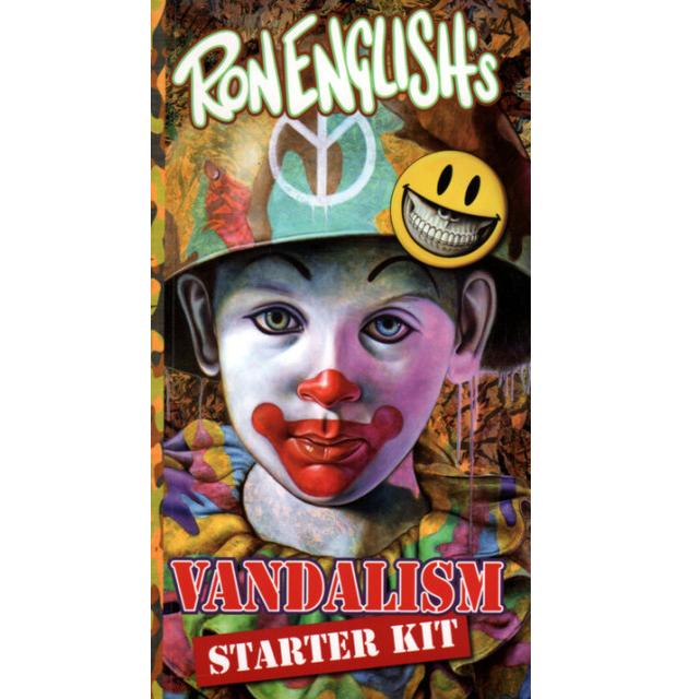 Ron English( ロン・イングリッシュ) Vandalism Starter Kit(ステッカー本)