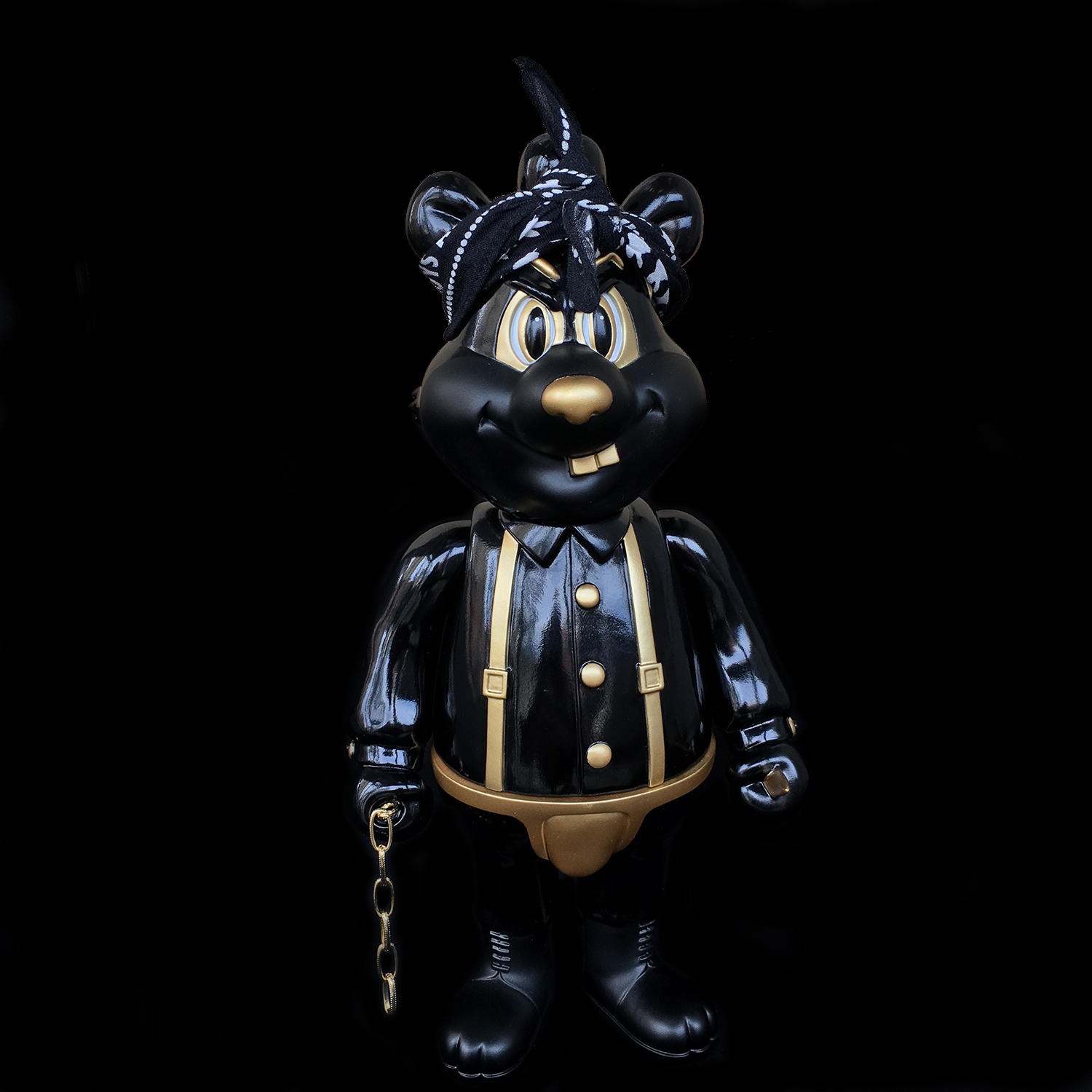 Frank Kozik x BlackBook Toy:A Clockwork Carrot Dim 11インチフィギュア Thug Life Edition