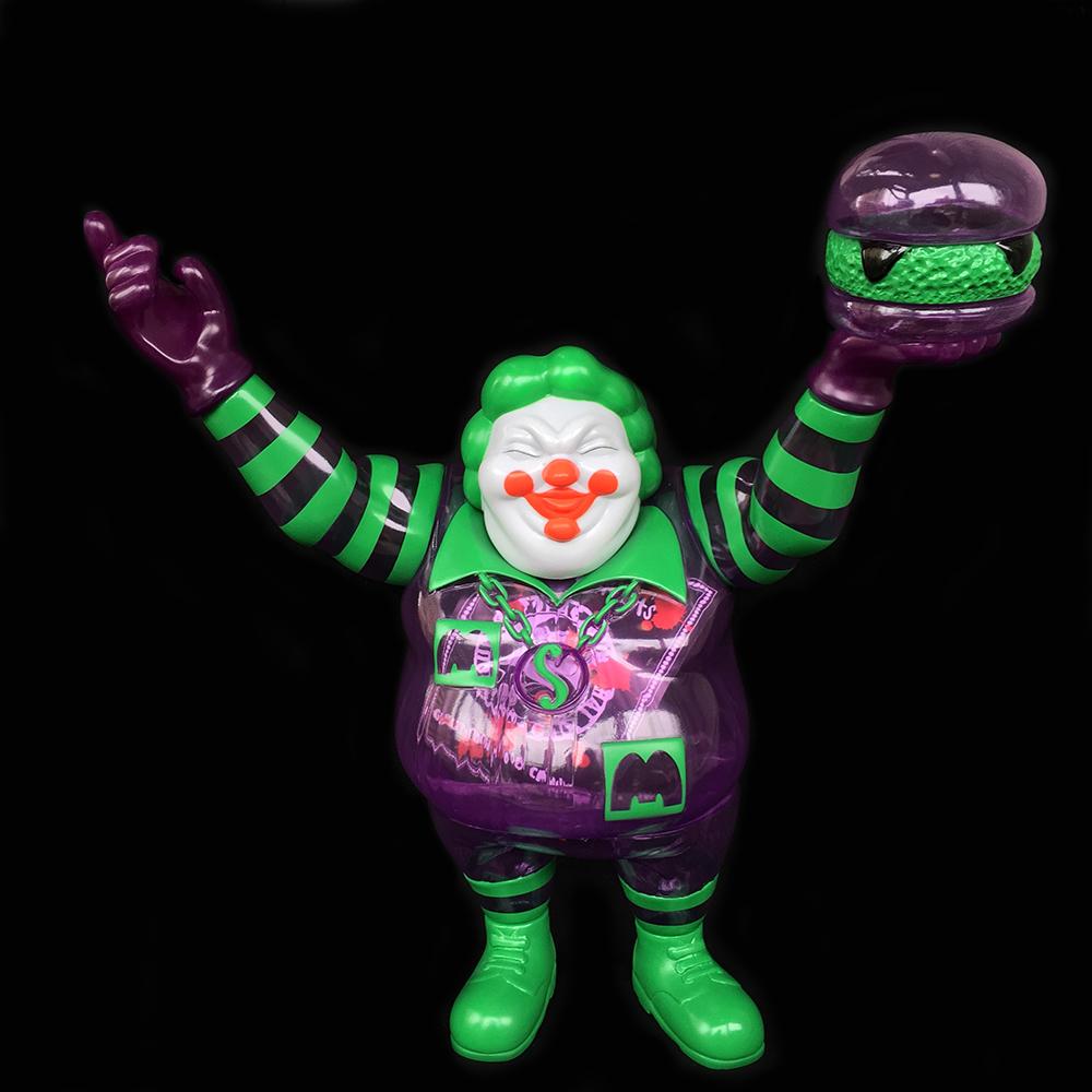 Ron English x BlackBook Toy( ロン・イングリッシュ):EVIL MC 16インチフィギュア Supervillain