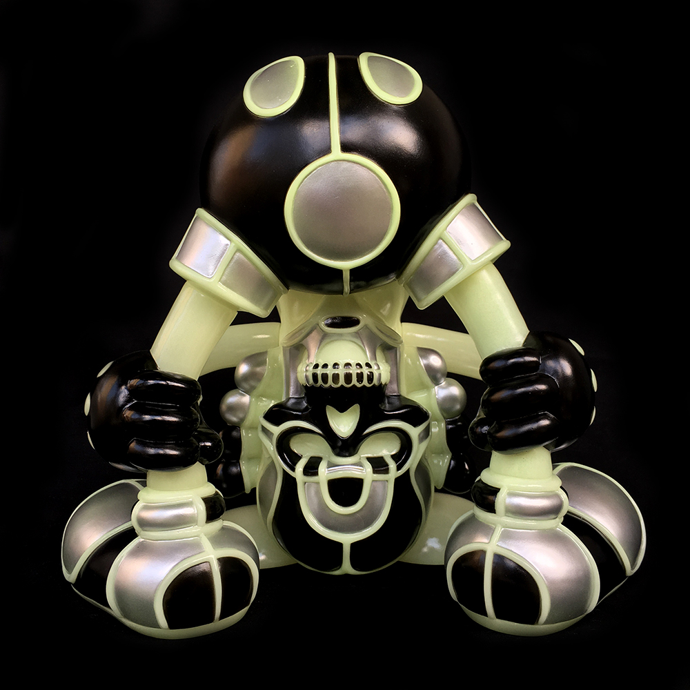 David Flores x HellFire Canyon Club x BlackBook Toy:Kiss My Ass Cyber Night edition