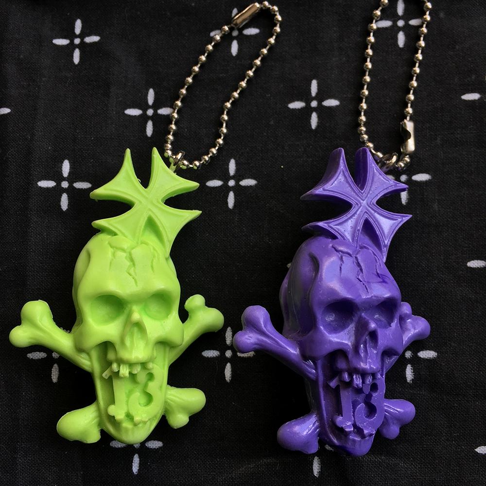 Monster Farm/Chop Street Racer resin key holder