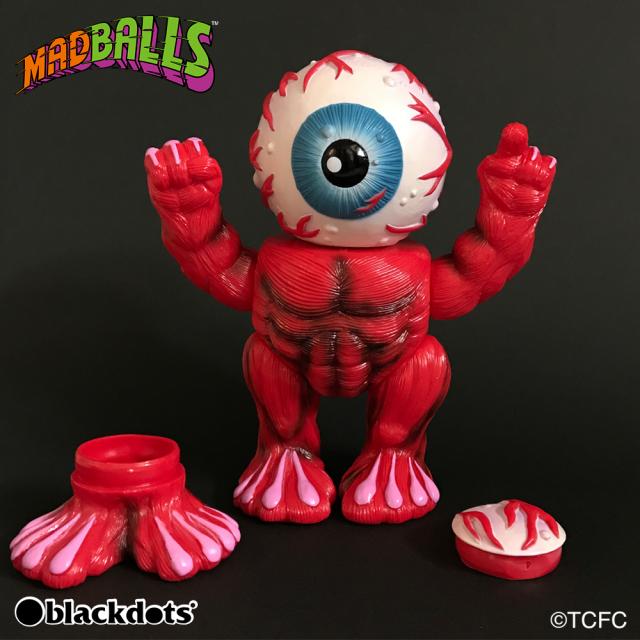 MADBALLS:Oculus Orbus OG Sofubi Coin Bank