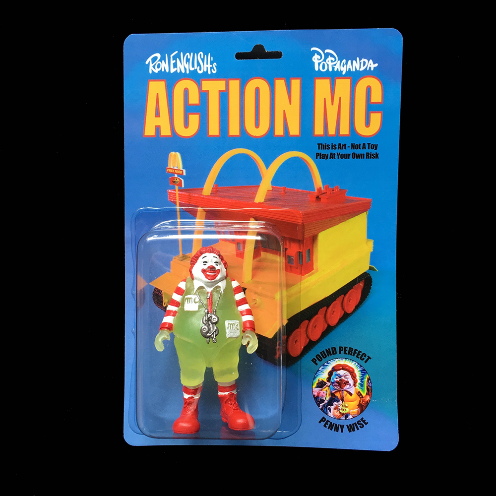 Ron English:ACTION MC GID