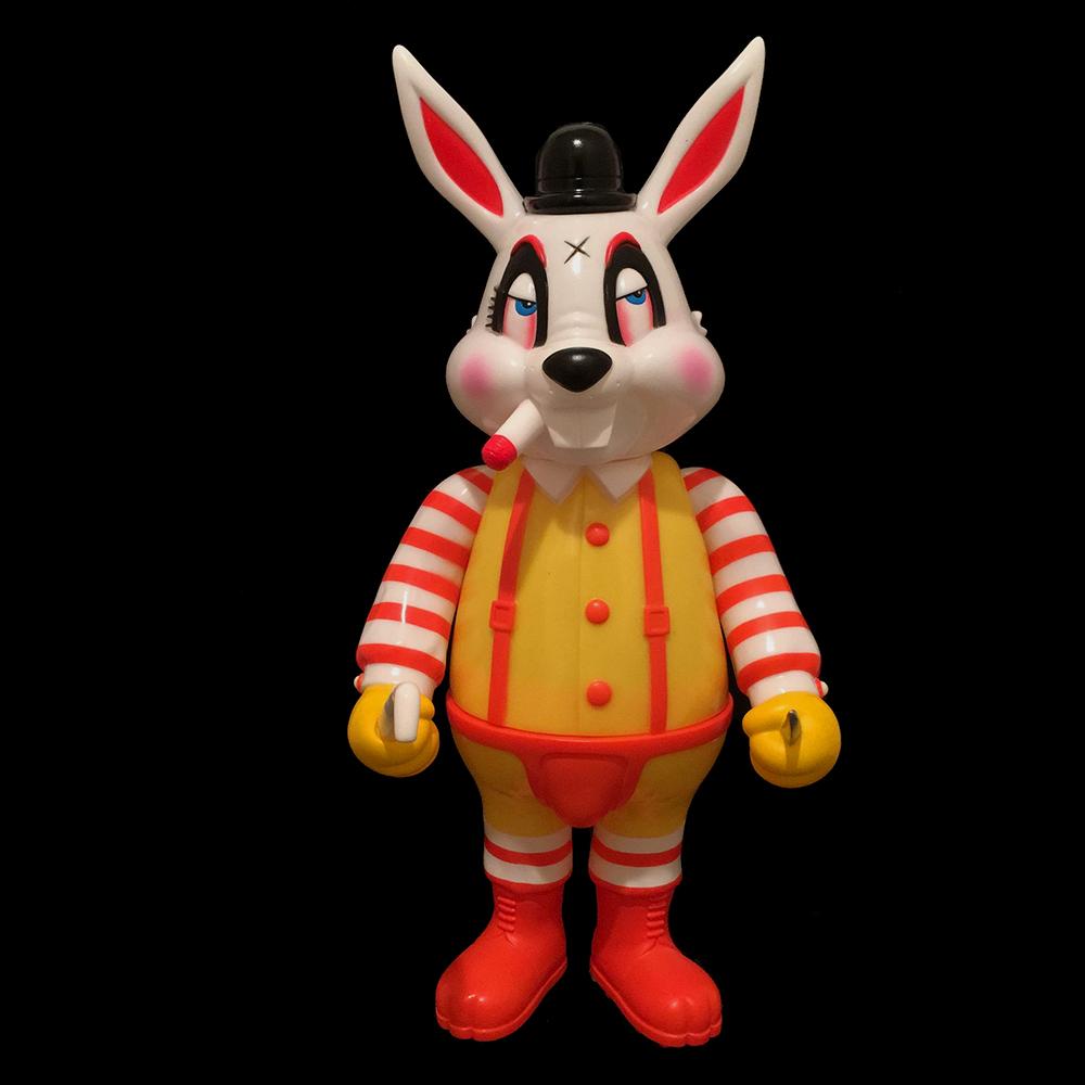 Frank Kozik x BlackBook Toy:A Clockwork Carrot MC Lil Alex
