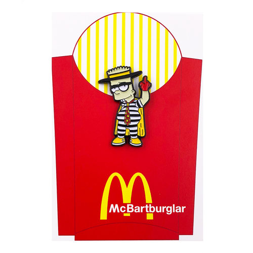 Stupid Krap:McBartburglar ピンズ