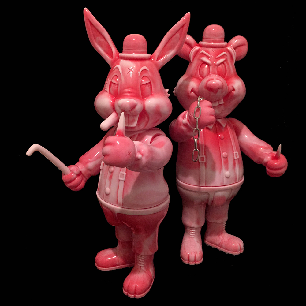 "Frank Kozik x BlackBook Toy:A Clockwork Carrot Lil Alex, Dim ""Dead Meat"""