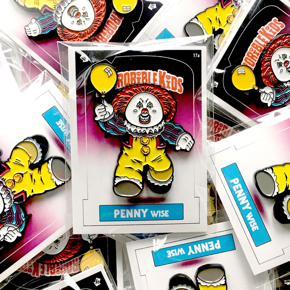 Horrorible Kids: PENNY Wise Pin
